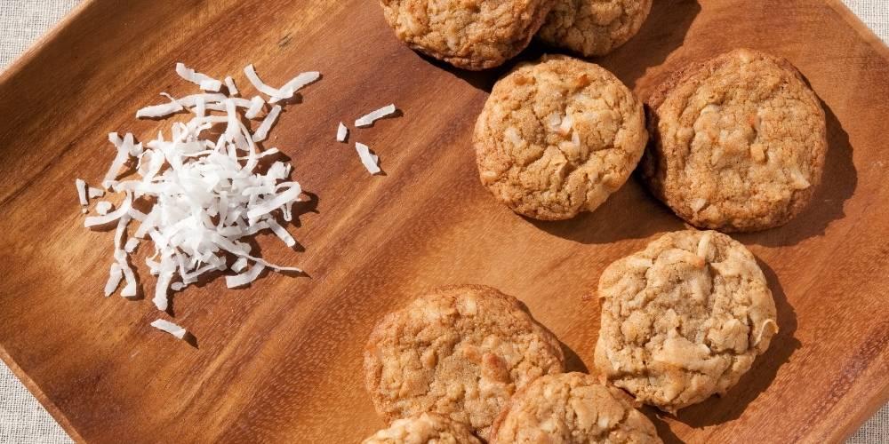 Galletas de coco sin azúcar receta