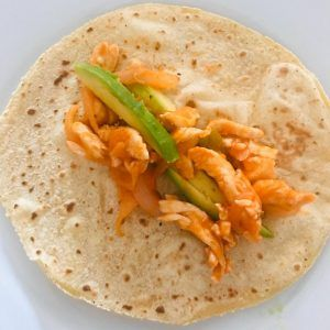Tortillas mexicanas de maíz para tacos preparación