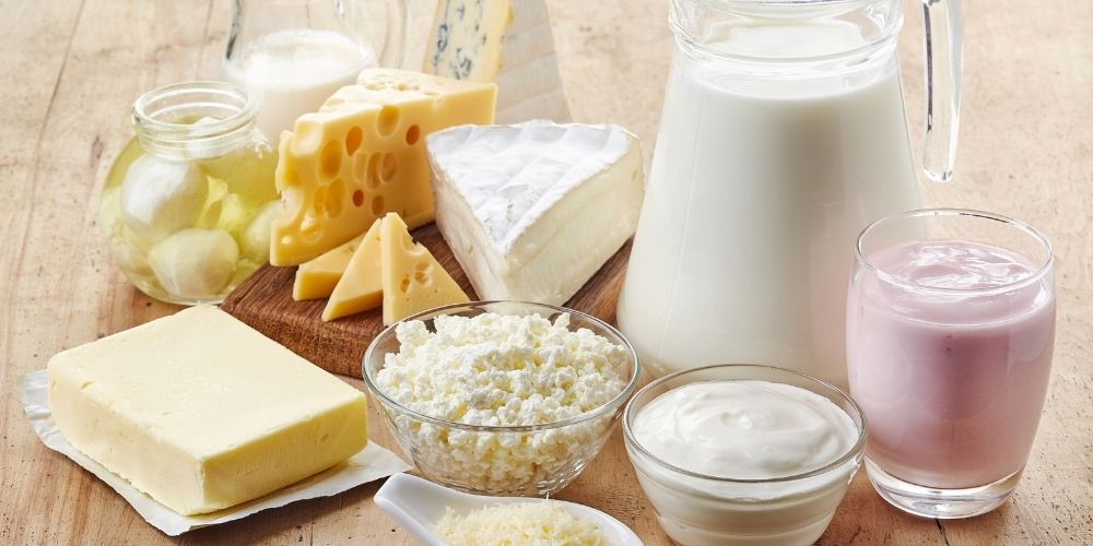 Alimentos que conteniene lactosa