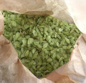 Arroz verde con verduras preparación