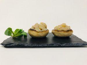 champiñones-con-pera-y-queso
