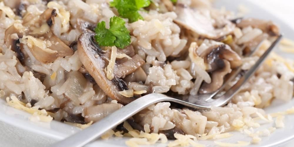 Falso risotto de setas receta