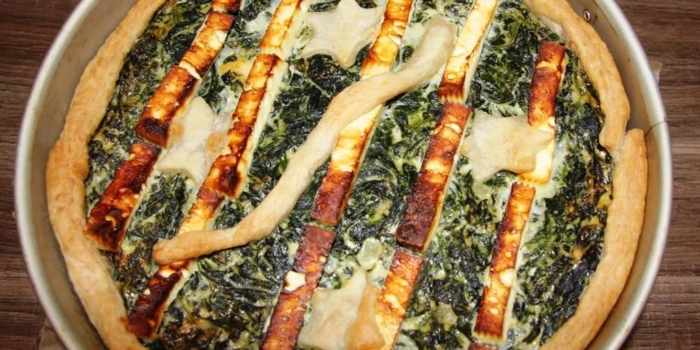 Receta quiche de espinacas